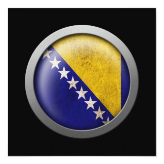 Flag of Bosnia and Herzegovina Disc Card