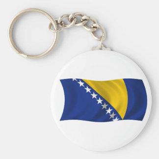 Flag of Bosnia and Herzegovina Keychain