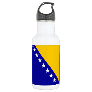 Flag of Bosnia and Herzegovina Water Bottle