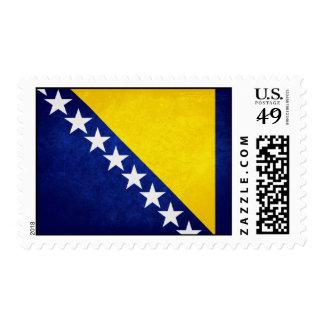 Flag of Bosnia Postage Stamp