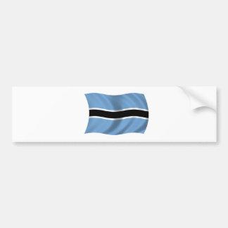 Flag of Botswana Bumper Sticker