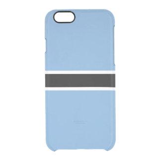 Flag of Botswana Clear iPhone Case
