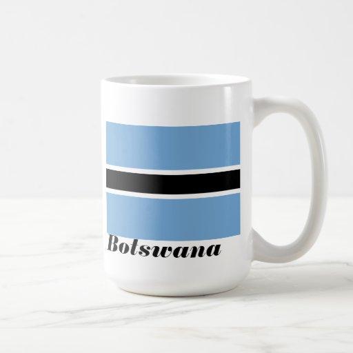 Flag of Botswana Coffee Cup Classic White Coffee Mug