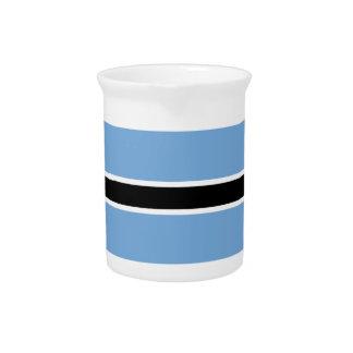 Flag of Botswana Pitcher