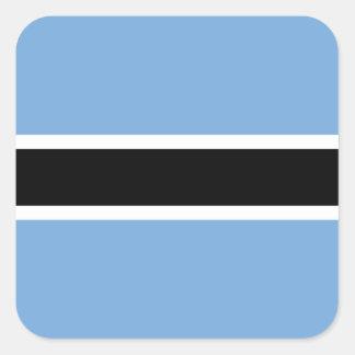 Flag of Botswana Square Sticker