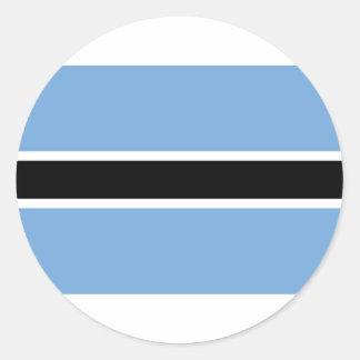 Flag of Botswana Stickers