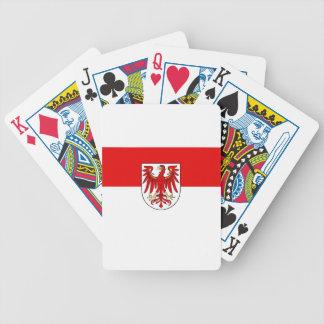 Flag_of_Brandenburg Bicycle Playing Cards