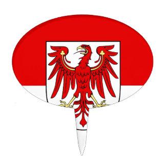 Flag_of_Brandenburg Cake Topper
