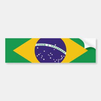 Flag of Brazil Bandeira do Brasil Bumper Sticker