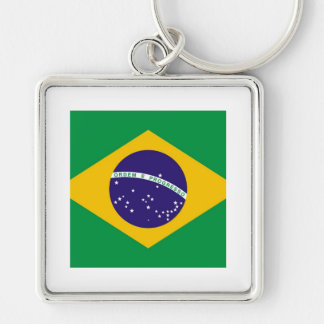 Flag of Brazil Bandeira do Brasil Keychain