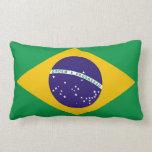 Flag of Brazil Bandeira do Brasil Lumbar Pillow