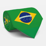 Flag of Brazil Bandeira do Brasil Neck Tie