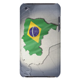 Flag of Brazil Barely There iPod Cover