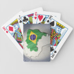 Flag of Brazil Bicycle Playing Cards