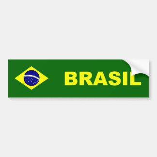 Flag of Brazil/Brazil Car Bumper Sticker