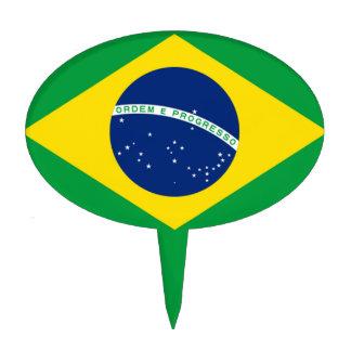 Flag of Brazil, Brazilian Cake Topper
