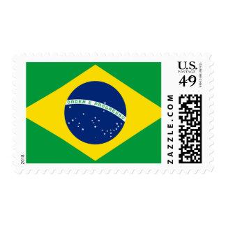 Flag of Brazil, Brazilian Postage Stamp