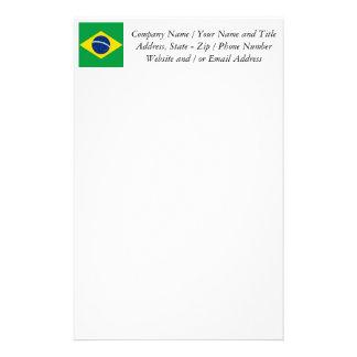 Flag of Brazil, Brazilian Stationery