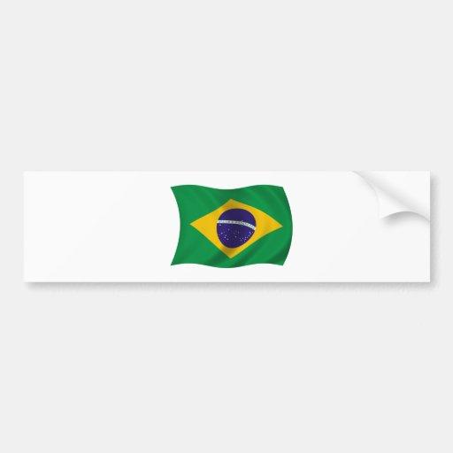 Flag of Brazil Bumper Sticker