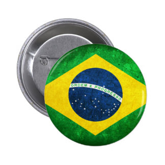 Flag of Brazil Button