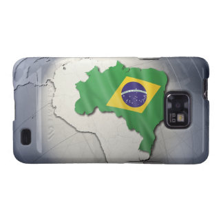 Flag of Brazil Samsung Galaxy SII Covers