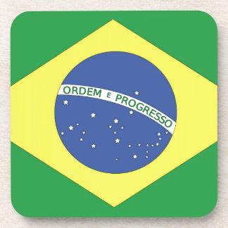 Flag of Brazil Beverage Coaster