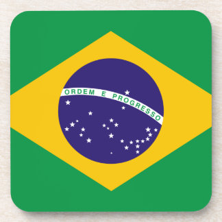 Flag of Brazil Coaster