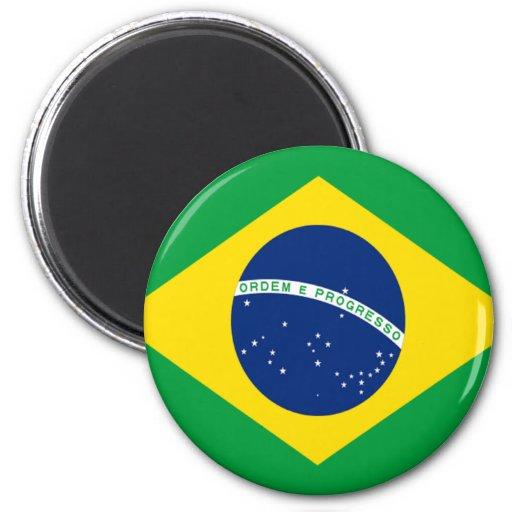 Flag of Brazil Fridge Magnet