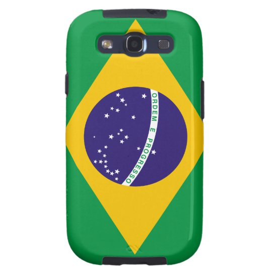 Flag of Brazil Galaxy S3 Case