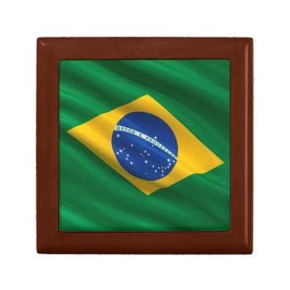 Flag of Brazil Trinket Boxes