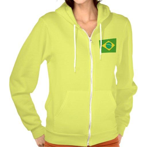 Flag of Brazil Hoodie