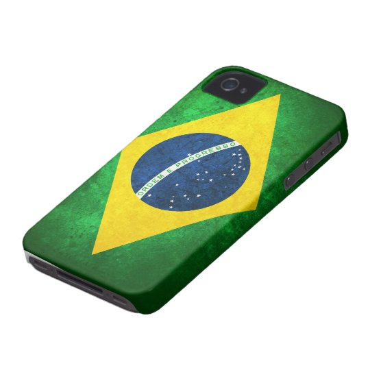 Flag of Brazil iPhone 4 Cover