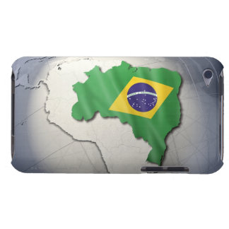 Flag of Brazil iPod Touch Case-Mate Case
