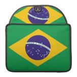 Flag of Brazil MacBook Pro Sleeve