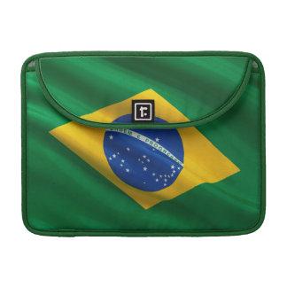 Flag of Brazil Sleeves For MacBooks