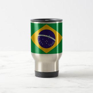 Flag of Brazil 15 Oz Stainless Steel Travel Mug