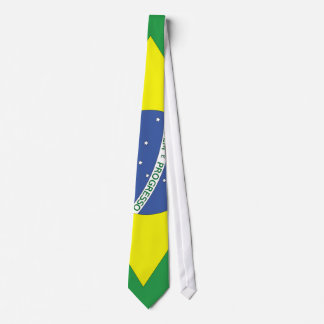 Flag of Brazil Neck Tie