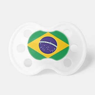 Flag of Brazil Baby Pacifier