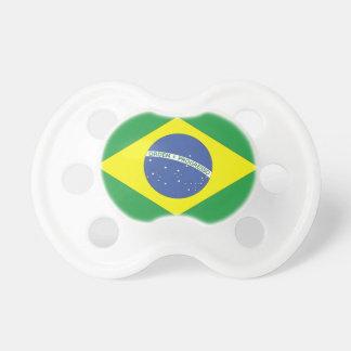 Flag of Brazil Pacifier