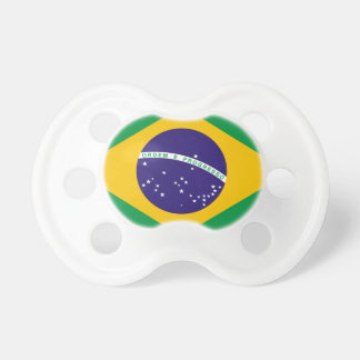 Flag of Brazil Baby Pacifiers