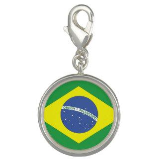 Flag of Brazil Photo Charm