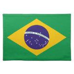 Flag of Brazil Place Mat