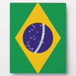 Flag of Brazil Plaque