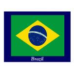 Flag of Brazil Post Card