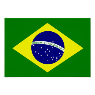 Punchy image with brazil flag printable