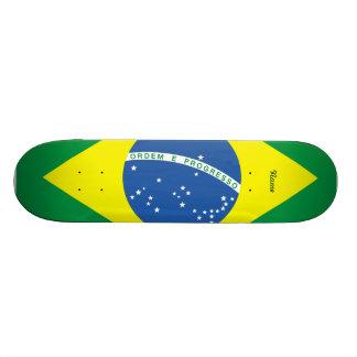 Flag of Brazil Skateboard