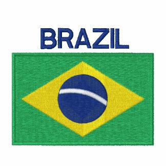 Flag of Brazil South American Brazilian Hoodies