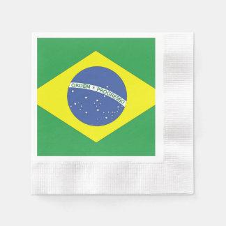 Flag of Brazil Paper Napkin