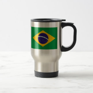 Flag of Brazil Travel Mug