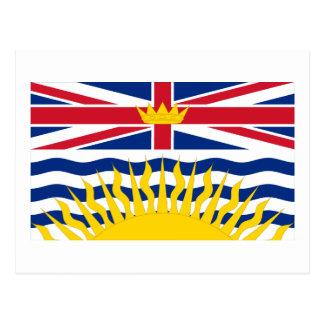 Flag of British Columbia, Canada Postcards